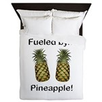 Fueled by Pineapple Queen Duvet