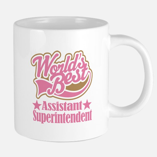 Assistant Superintendent Gift Mugs