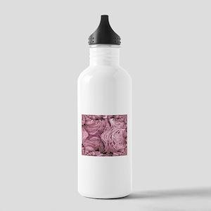 Purple Blanket Fractal Stainless Water Bottle 1.0L