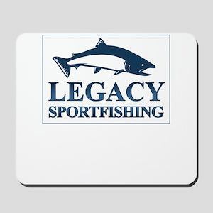 legacy sportfishing Mousepad