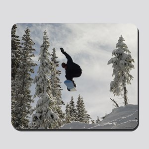 Snowboarding Mousepad | Mouse Pad
