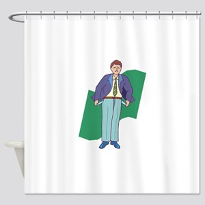 Empty Pockets Shower Curtain