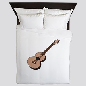Acoustic Guitar Queen Duvet