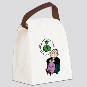 Dreaming Of Money Canvas Lunch Bag
