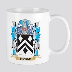 Thorne Coat of Arms - Family Crest Mugs