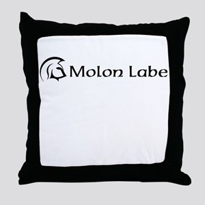 molon labe Throw Pillow