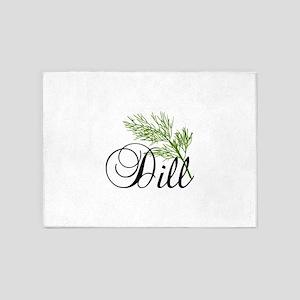 Dill 5'x7'Area Rug