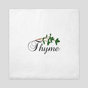 Thyme Queen Duvet