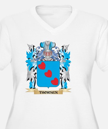 Thorsen Coat of Arms - Family Cr Plus Size T-Shirt