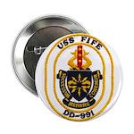 """USS FIFE 2.25"""" Button"""