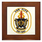 USS FIFE Framed Tile