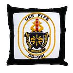 USS FIFE Throw Pillow