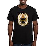 USS FIFE Men's Fitted T-Shirt (dark)
