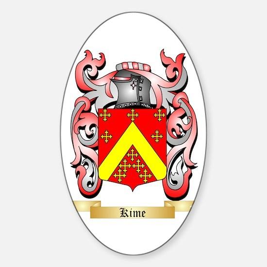Kime Sticker (Oval)
