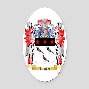 Kimber Oval Car Magnet