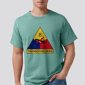 8th Armored Division - Thundering He T-Shirt