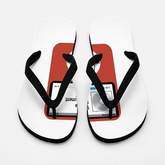 Ipad Viola Flip Flops