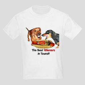 Best Wieners Dachshund Dogs Kids Light T-Shirt