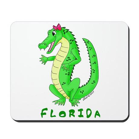 Cute Gator Mousepad