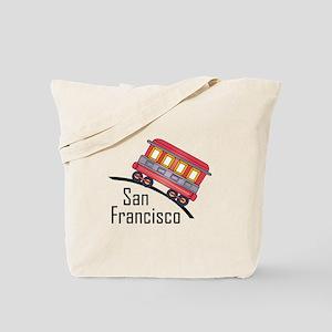 san francisco trolley Tote Bag
