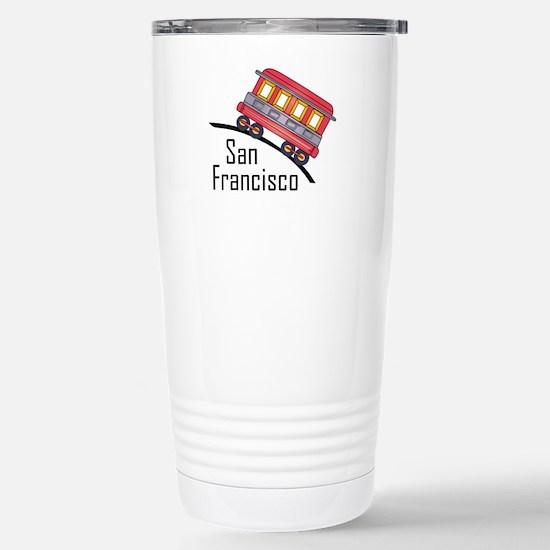 san francisco trolley Travel Mug