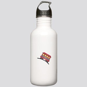 trolley car Water Bottle