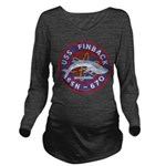 USS FINBACK Long Sleeve Maternity T-Shirt