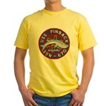 USS FINBACK Yellow T-Shirt