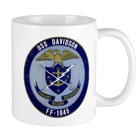 USS DAVIDSON 11 oz Ceramic Mug