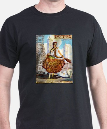 Puebla Mexico ~ Vintage Travel T-Shirt