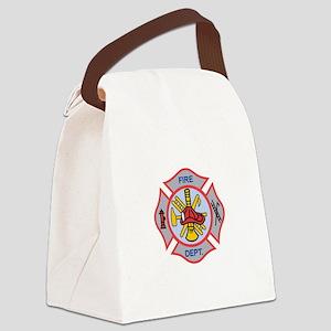 MALTESE CROSS APPLIQUE Canvas Lunch Bag