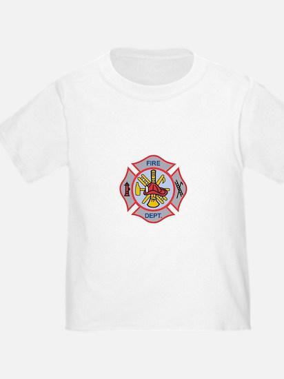 MALTESE CROSS APPLIQUE T-Shirt