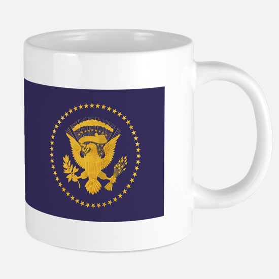 Gold Presidential Seal, VIP, The White Mugs