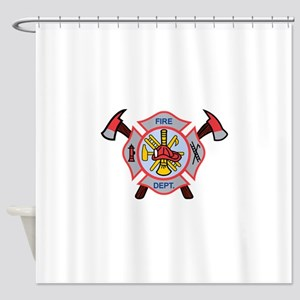 MALTESE CROSS APPLIQUE Shower Curtain