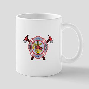 MALTESE CROSS APPLIQUE Mugs
