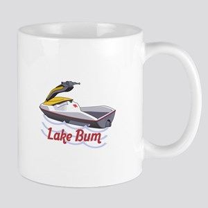 JET SKI LAKE BUM Mugs
