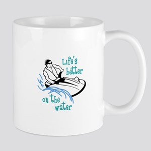 Lifes Better On the Water Mugs