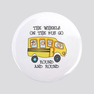 "THE WHEELS ON THE BUS 3.5"" Button"