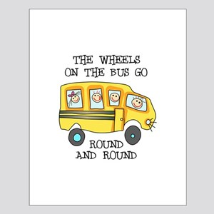 THE WHEELS ON THE BUS Posters