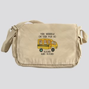 THE WHEELS ON THE BUS Messenger Bag