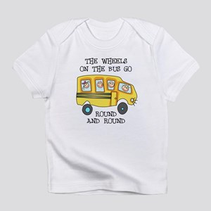 THE WHEELS ON THE BUS Infant T-Shirt