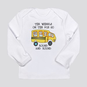 THE WHEELS ON THE BUS Long Sleeve T-Shirt
