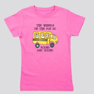 THE WHEELS ON THE BUS Girl's Tee