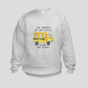 THE WHEELS ON THE BUS Sweatshirt