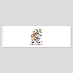 THE NUT HOUSE Bumper Sticker