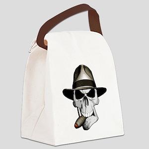 Mafia Skull Canvas Lunch Bag