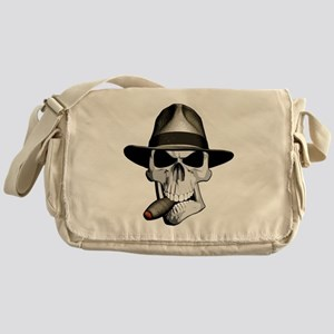 Mafia Skull Messenger Bag