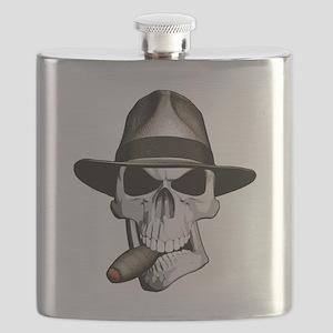 Mafia Skull Flask