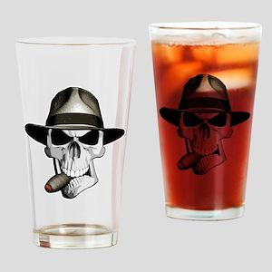 Mafia Skull Drinking Glass