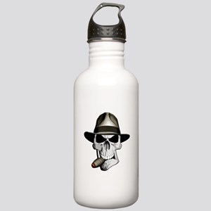 Mafia Skull Water Bottle